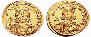 Solidus Nicephorus I and Staraucius sb1604